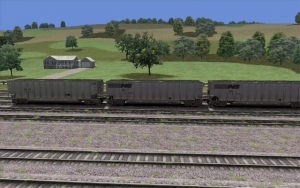 DKPX/NS Coal Hopper set
