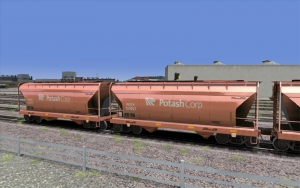 Potash Co. 2 Bay Hopper added to the fleet