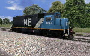 Blue NERW Livery GP38-2