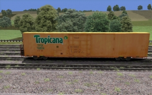 Tropicana Refrigerator car