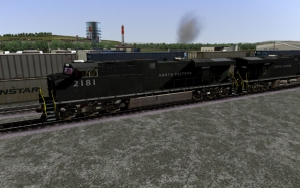North Eastern ES44AC in Black