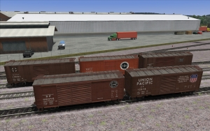 NERW Prototype PS-1 Boxcar set