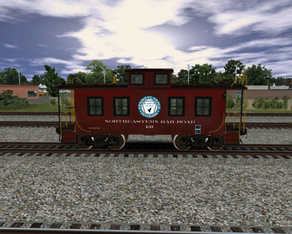 NERW Wood Caboose 2