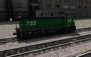 North Eastern EMD SW1500 Element Ethanol