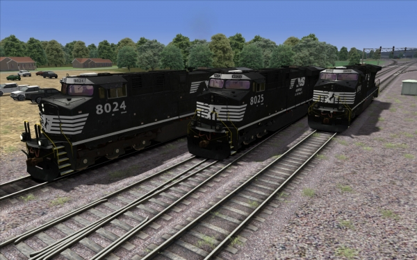 Norfolk Southern ES44AC set